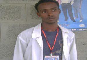 Alemu Ggiorgis, from Rhaiya Health Center in Ethiopia
