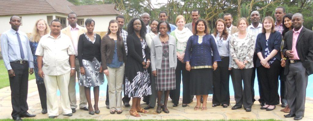 SC4CCM teams from Malawi, Ethiopia, Rwanda, Kenya and DC meet in Naivasha
