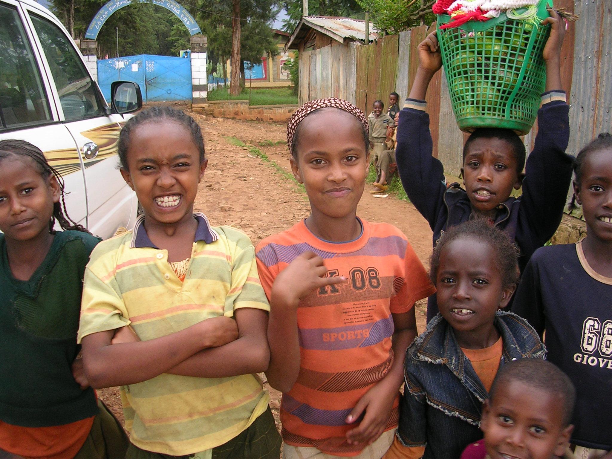 Healthy children in Ethiopia