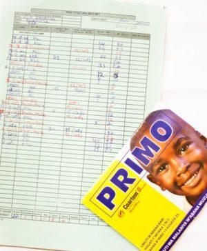 Primo Jaune stock card
